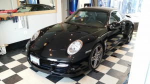 911 Full hood 3M paint protection.